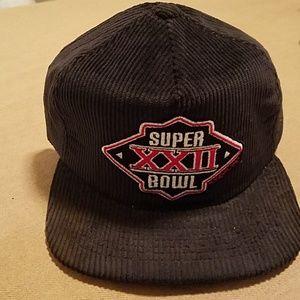 NWOT Vintage Super Bowl XXII (Redskins won)